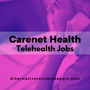 Carenet Telehealth jobs
