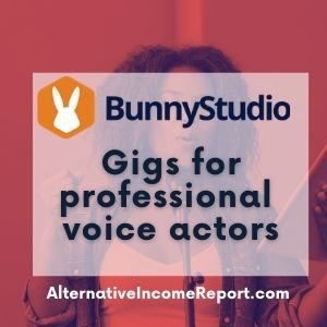 Voice bunny voice over gigs