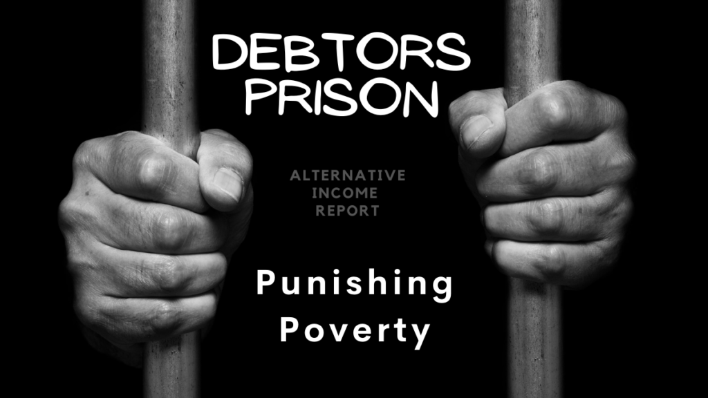 Debtors prison - punishing poverty