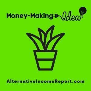 Make money gardening